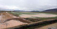 Imagen de campos anegados y cuencas fluviales en la provincia. / ASAJA