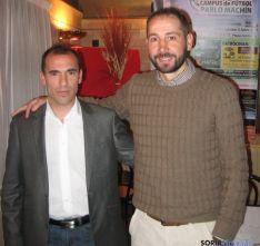 Carlos Herrero y Pablo Machín