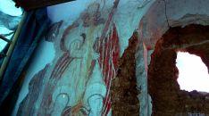 Las pinturas en la ermita. / Jta.