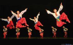 Grupo de danza cosacos rusos