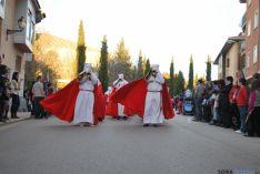 Uno de los distintos momentos de la procesión. / SN