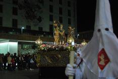 Una de las imágenes de la procesión de este Martes Santo. / SN
