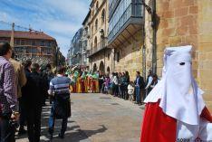 Una imagen de la multitudinaria procesión de la 'Borriquilla'. / SN
