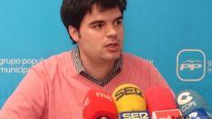 Javier Sanz, concejal del PP en Soria