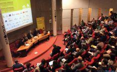 Imagen del simposio, con Ascensión Pérez como ponente.