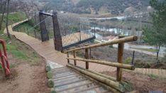 Pasarela del río Duero al Castillo