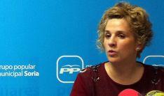 La concejal del PP en el Ayuntamiento de Soria, Rocío Gallardo.
