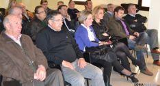 Socios asistentes a la asamblea de Almarza