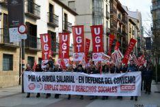 Los sindicatos denuncian que se ha vuelto a los años setenta y exigen convenios para todos