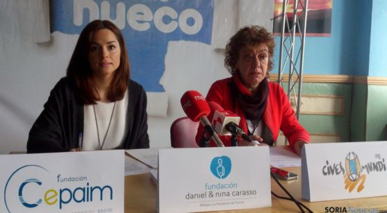 Laura García (izda.) y Teresa de Vicente. / SN