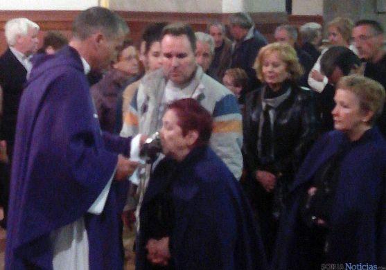 Veneración de las Santas Espinas esta tarde. / SN