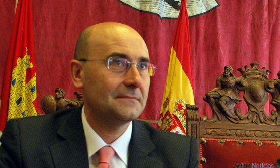 Jesús Manuel Alonso Jiménez, alcalde de Ágreda. / SN