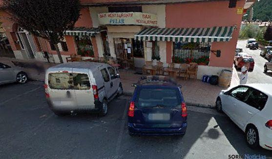 Imagen del establecimiento en la localidad pinariega. / GM