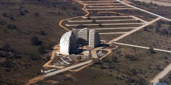 Vista aérea de la antigua CMA, ahora Parque Empresarial del Medio Ambiente. / SN