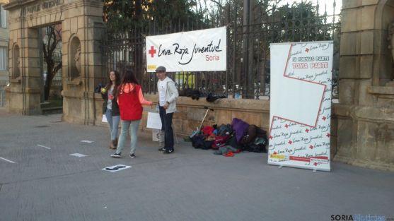 Cruz Roja Juventud este viernes en Granados. / SN