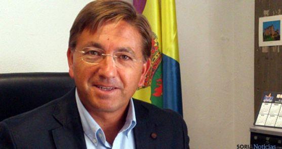 Gerardo Martínez, actual alcalde de Ólvega. / SN