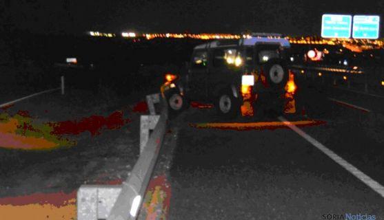 Imágenes del accidente. / Subdeleg.