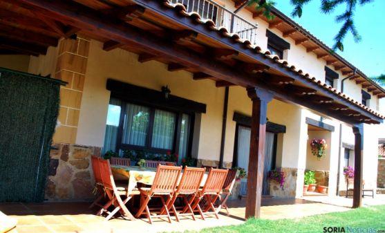 Casa rural La Noguera, en Ventosilla de San Juan. / SN