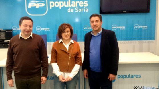 Presentación candidatos del PP.