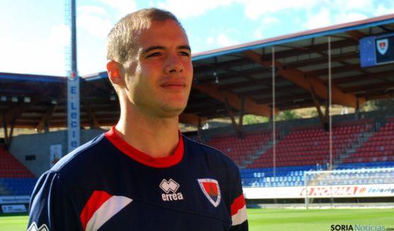 El jugador numantino Adrián Ripa. / SN