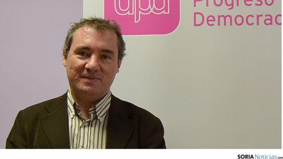 José Antonio Ruiz Rico, delegado en Soria de UPyD. / SN