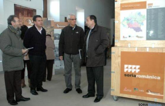 Inauguración exposición en Berlanga