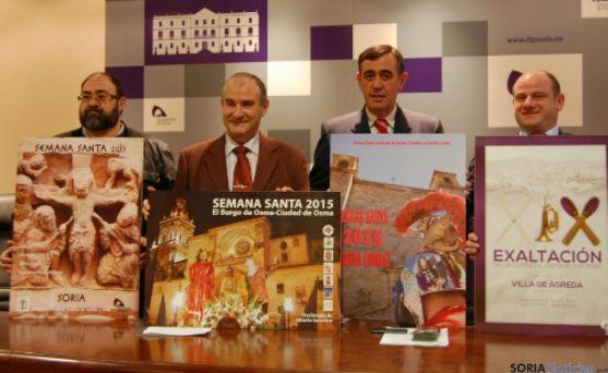 Carteles Semana Santa de Soria, El Burgo de Osma y Ágreda.