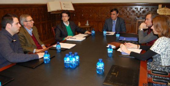 Reunión Diputación-Foes