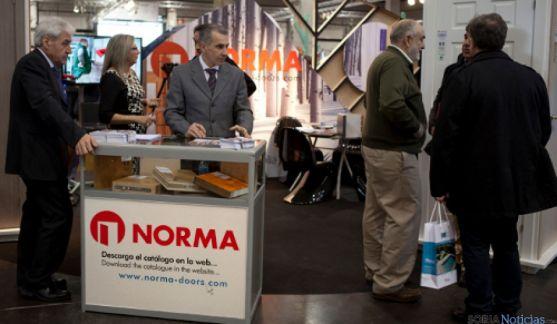 Norma Doors en feria de Valencia.