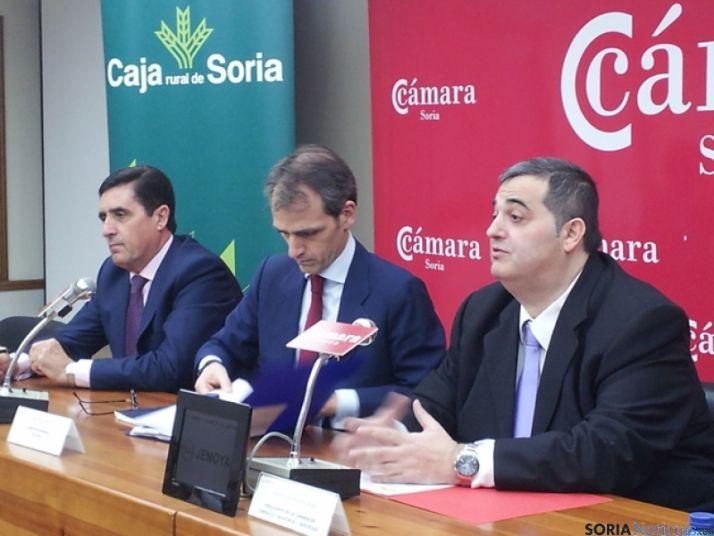 Carlos Martínez, Isaac Martín y Alberto Santamaría