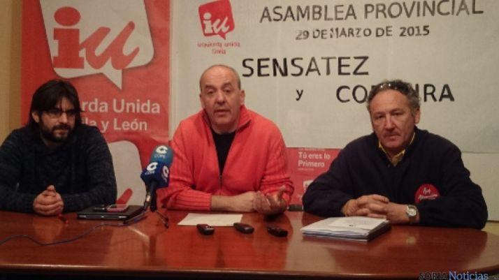 Angel Alberto Flores, Enrique García y José Alberto Lorenzo