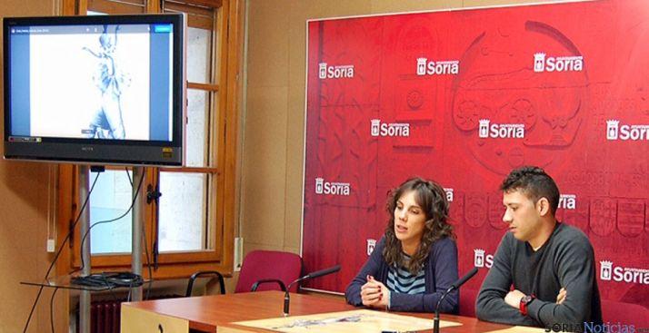 Inés Andrés y Abel Pascual. / Ayto.