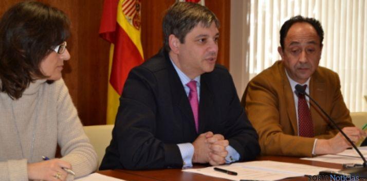 El director general de trabajo en Soria