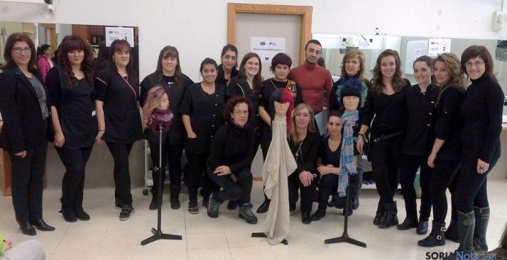 Participantes en el proyecto 'Hair FP'. / Jta.