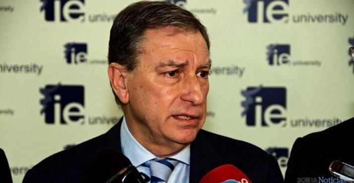 El consejero de Educación, Juan José Mateos. / Jta.