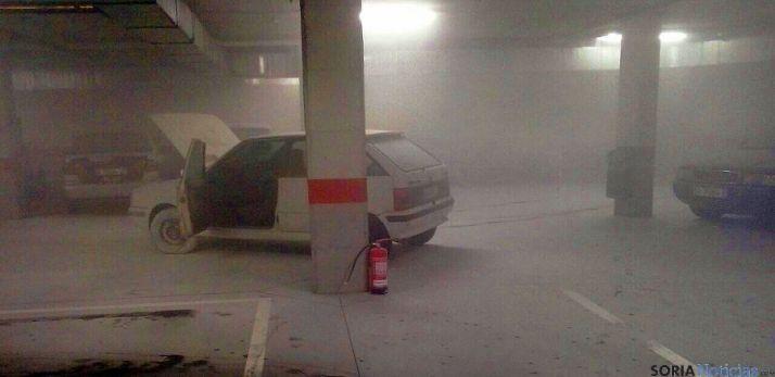 Imagen del aparcamiento del vehículo. / SN