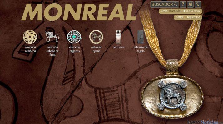 Portada de la nueva web de Monreal.