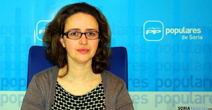 Montse Torres, primera de la lista del PP a las municipales adnamantinas.