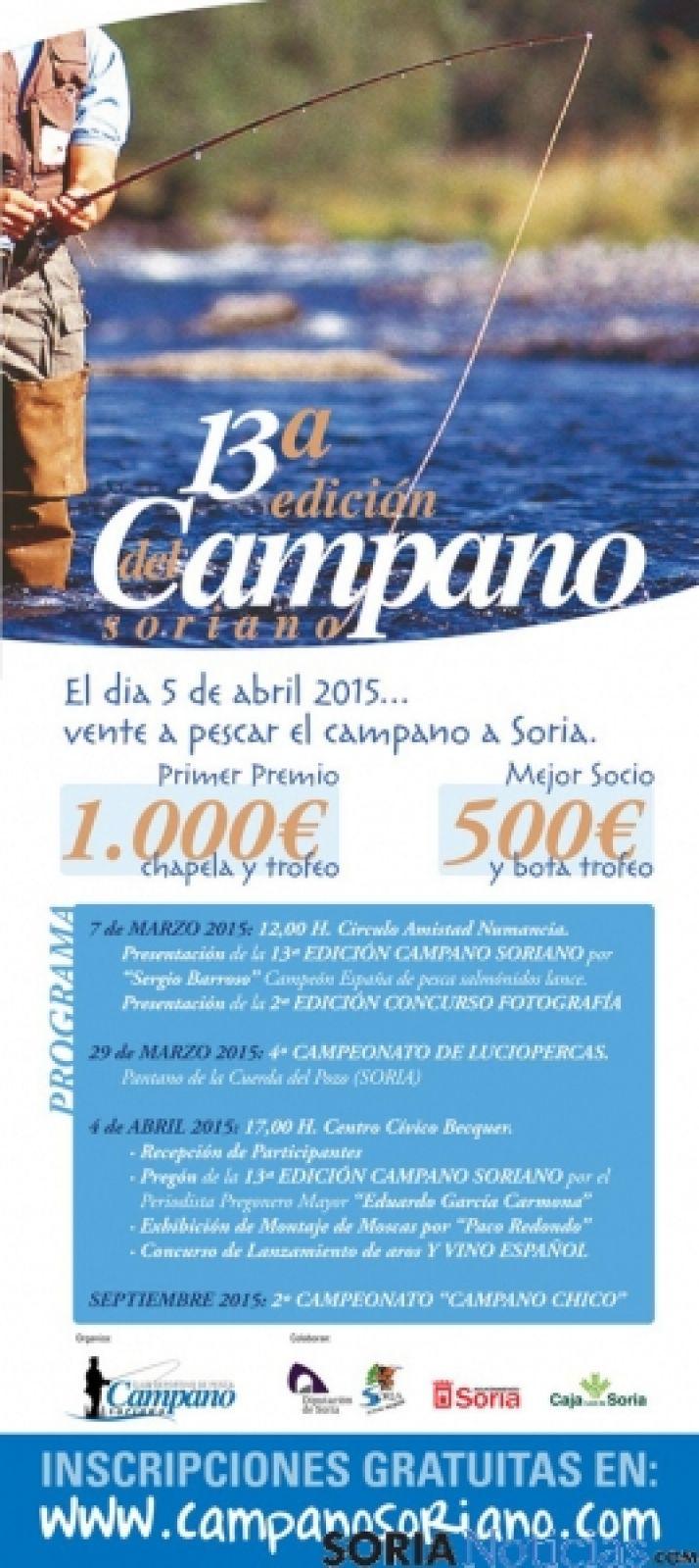 Cartel de la presente edición del Campano Soriano.