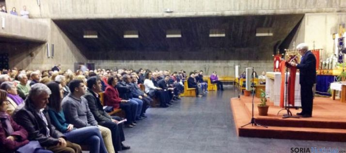 Ruiz Liso, en el pregon de la Semana Santa 2015
