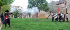 Escenificación comunera en el parque de Santa Clara. / SN
