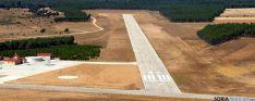 Vista del aeródromo de Garray. / AA