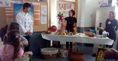 El taller en el colegio de Almarza.