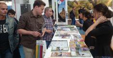 Mostrador con turismo de Soria en feria B-Travel