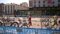 Unos 500 participantes, en las categorías de duatlon sprint y corto por edades