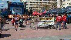 Foto 3 - Unos 500 participantes, en las categorías de duatlon sprint y corto por edades