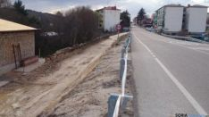 Camino nuevo lavadero Navaleno