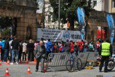 Imagen de la jornada nacional de duatlón en Soria. / SN