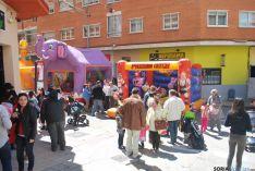 Ambiente festivo en el barrio del Calaverón. / SN