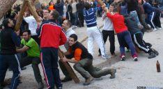 Jóvenes de San Leonardo en el levantamiento del mayo